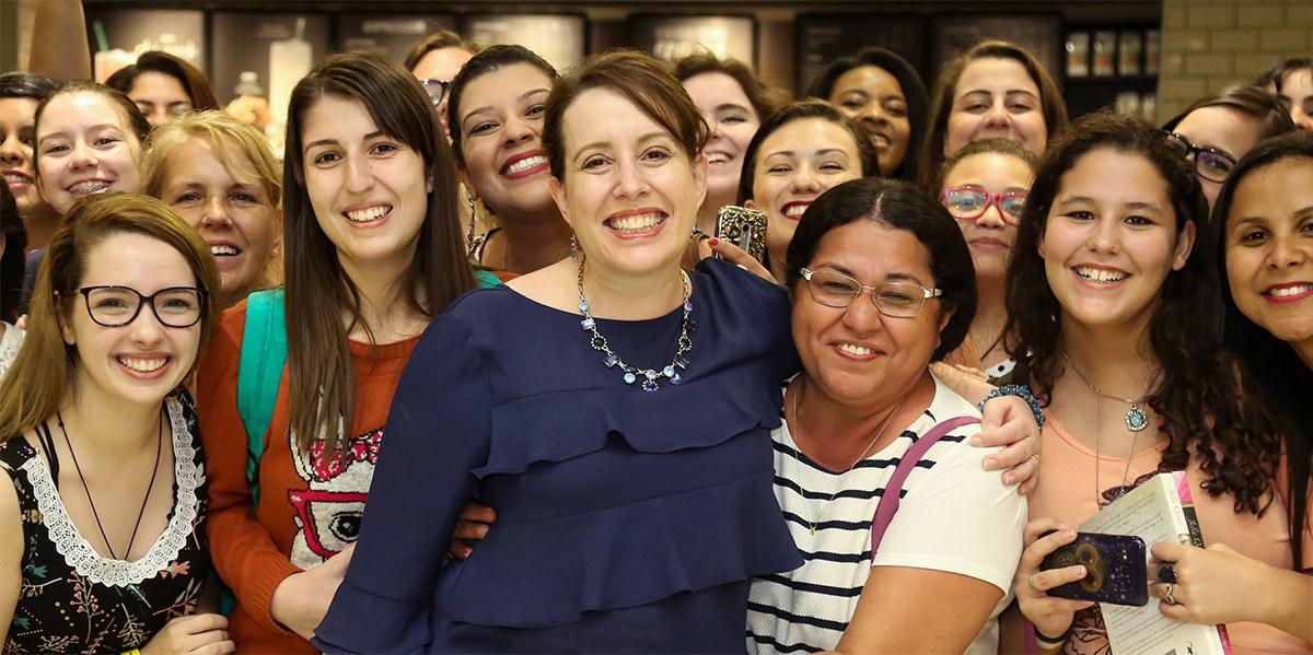 Julia Quinn in São Paulo