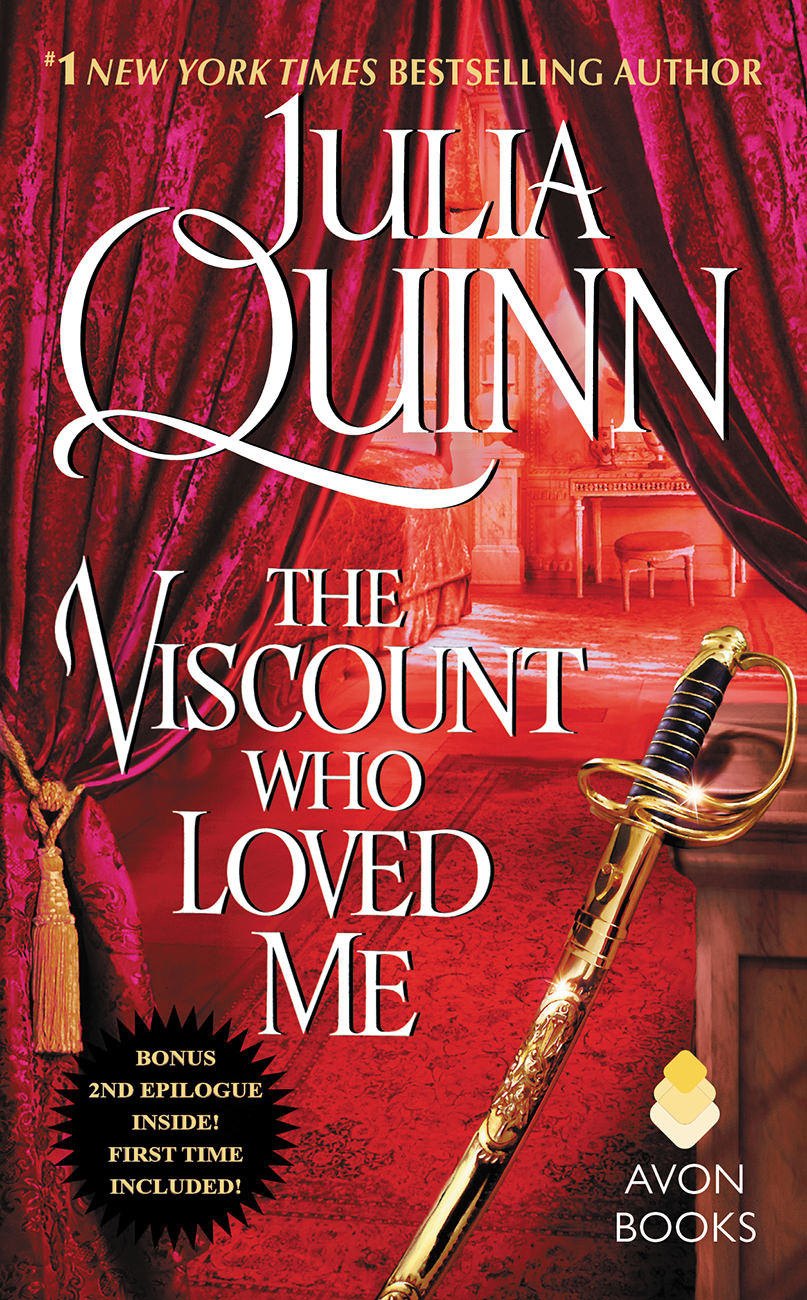 Image result for book cover julia quinn the viscount who loved me