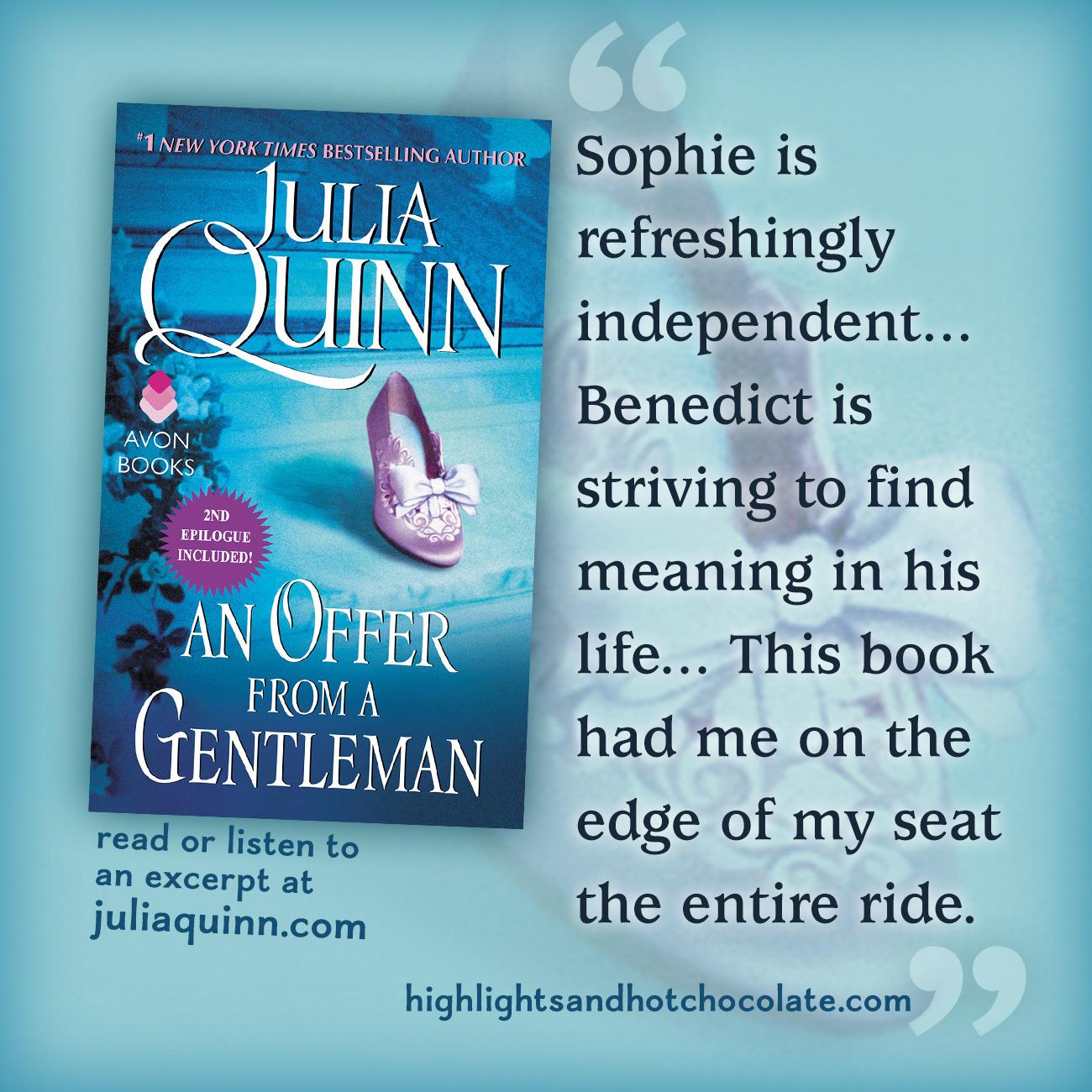 An Offer from a Gentleman   Julia Quinn
