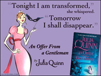 Julia Quinn: An Offer from a Gentleman