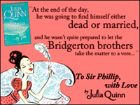 Julia Quinn: To Sir Phillip with Love
