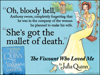 Julia Quinn: The Viscount Who Loved Me