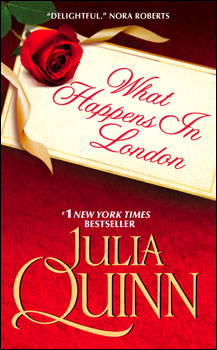 What Happens in London cover copyright by Julia Quinn