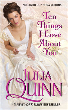 Ten Things I Love About You cover copyright by Julia Quinn